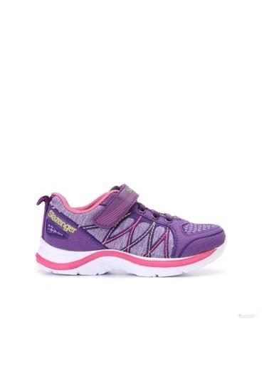 Slazenger Spor Ayakkabı Mor